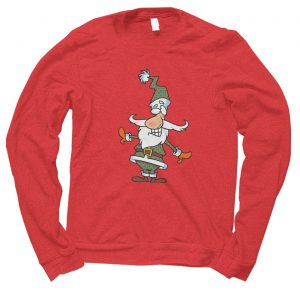 Santa Plaid Christmas jumper (sweatshirt)