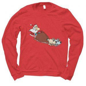 Santa Sleigh Christmas jumper (sweatshirt)