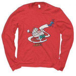 Santa Toy Tester Christmas jumper (sweatshirt)
