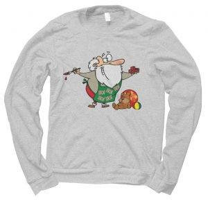 Santa Workshop Christmas jumper (sweatshirt)