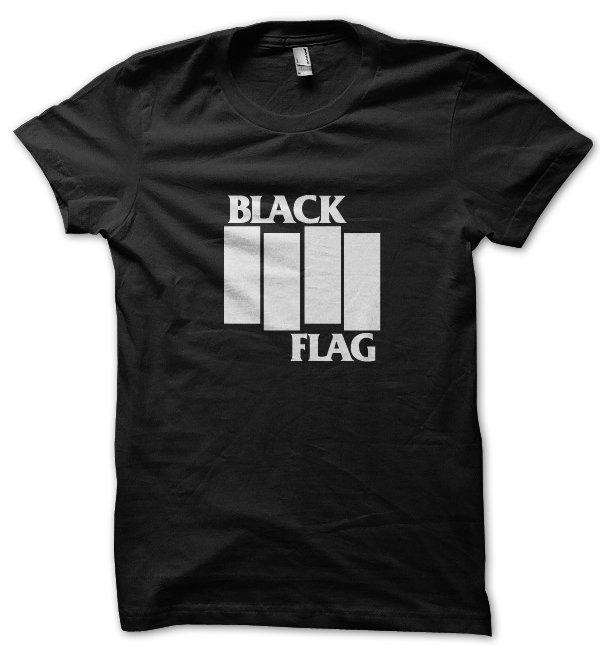 Black Flag t-shirt by Clique Wear