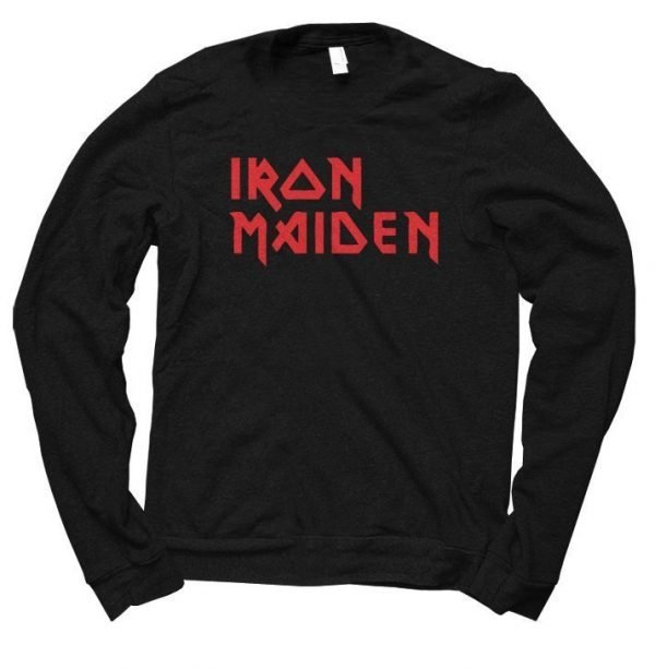 Iron Maiden jumper by Clique Wear