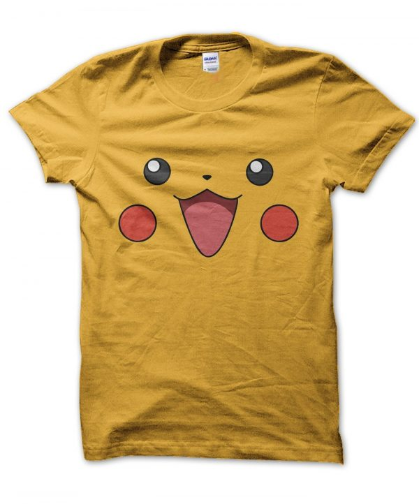 Pikachu face t-shirt by Clique Wear