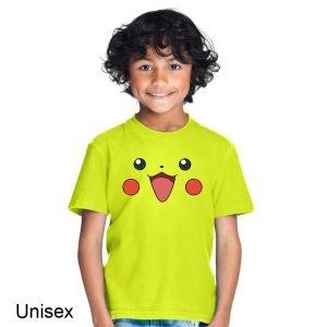 Pikachu face Children's T-shirt