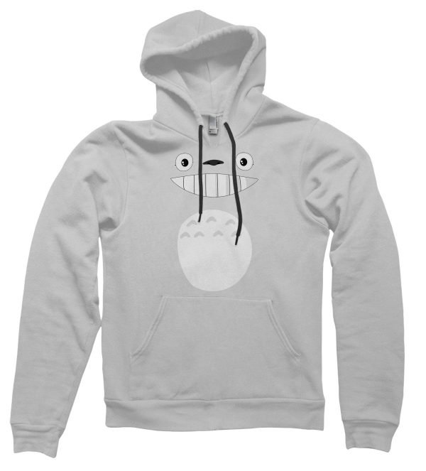 Totoro face hoodie by Clique Wear