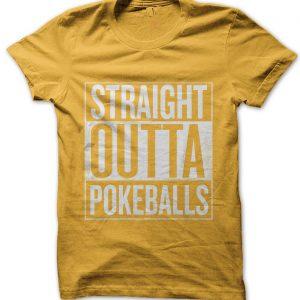 Straight Outta Pokeballs T-Shirt