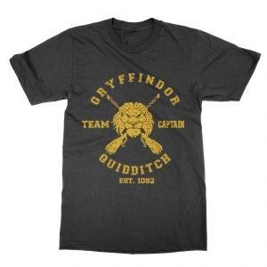 Gryffindor Quidditch Team Captain Children's T-shirt