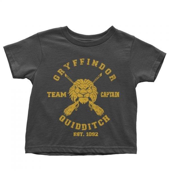 Gryffindor team captain t-shirt by Clique Wear