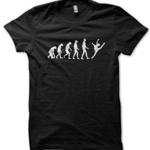Evolution of a Ballet Dancer T-Shirt