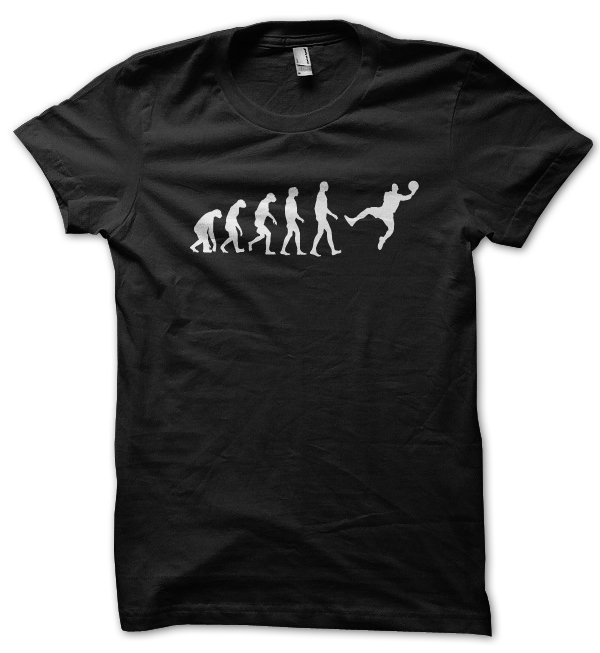 Evolution of a Basketball Player t-shirt by Clique Wear