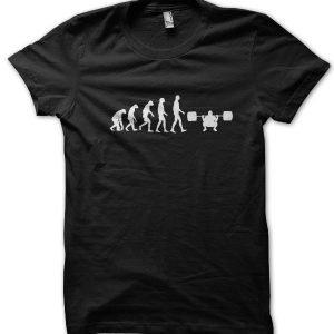 Evolution of a Bodybuilder T-Shirt