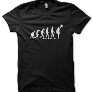 Evolution of a Cheerleader T-Shirt