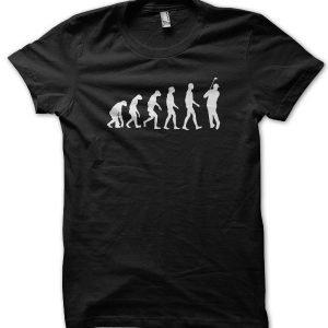 Evolution of a Cricketer T-Shirt