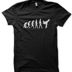 Evolution of a Karate Master T-Shirt