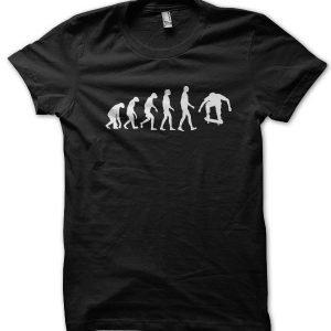 Evolution of a Skateboarder T-Shirt