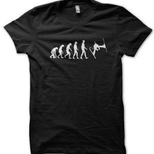 Evolution of a Skier T-Shirt
