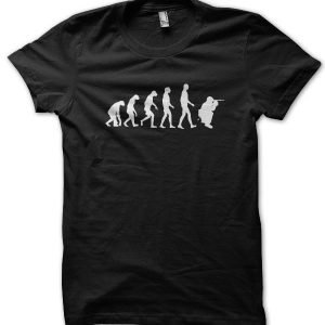 Evolution of a Sniper T-Shirt