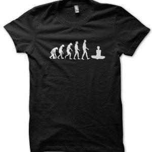 Evolution of a Yoga Master T-Shirt