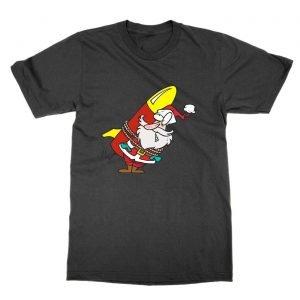 Santa Rocket christmas T-Shirt