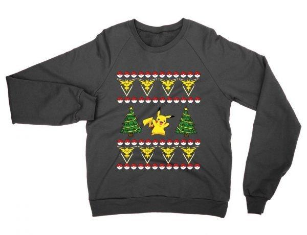 Team Instinct Pokemon Christmas sweatshirt by Clique Wear