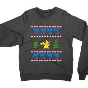 Team Mystic Pokemon Christmas jumper (sweatshirt)