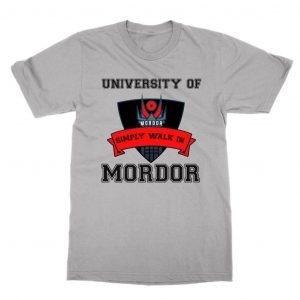 University of Mordor Simply Walk In T-Shirt