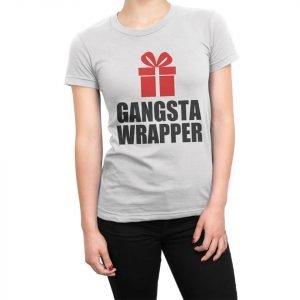 Gangsta Wrapper women's t-shirt