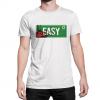 Walking Dead Easy Street bloody sign t-shirt by Clique Wear