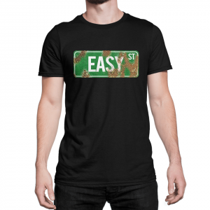 Walking Dead Easy Street rusted sign T-Shirt