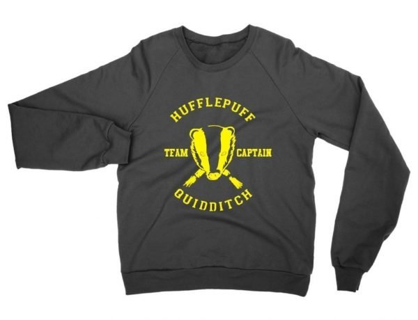 Hufflepuff Quidditch Team Captain sweatshirt by Clique Wear