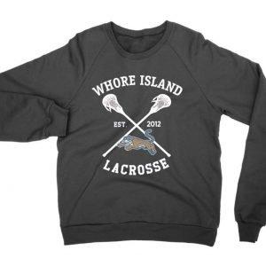 Whore Island Lacrosse jumper (sweatshirt)