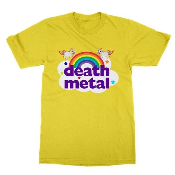 Death Metal funny t-shirt by Clique Wear