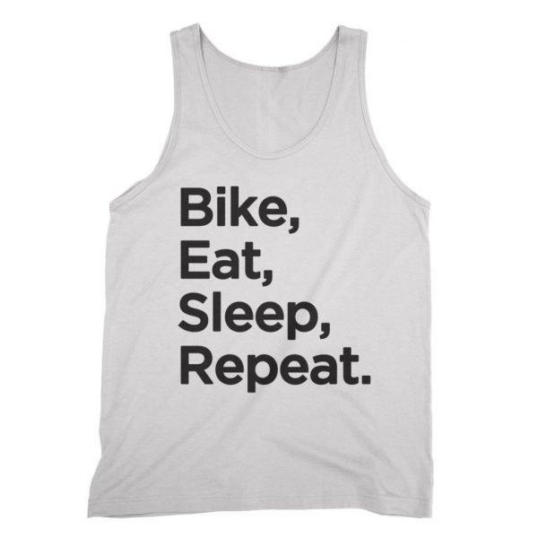 Bike Eat Sleep Repeat vest by Clique Wear
