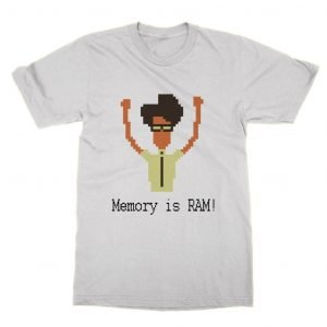Memory is RAM! IT Crowd (courier font) T-Shirt
