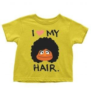 I Love My Hair Children's T-shirt