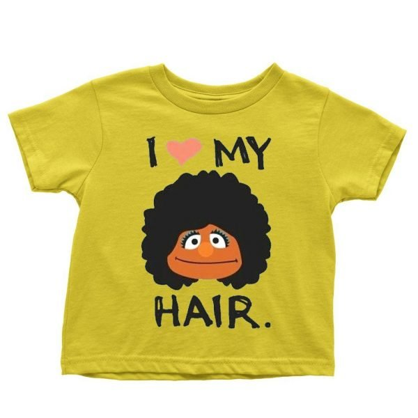 I Love My Hair children's t-shirt by Clique Wear