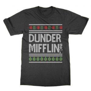 Dunder Mifflin xmas t-Shirt