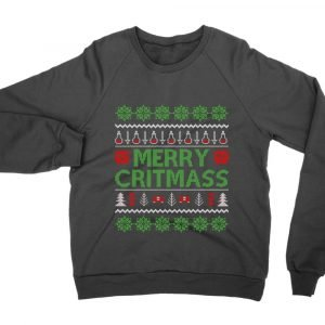 Merry Critmass Christmas jumper (sweatshirt)