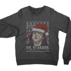 Oh Hi Santa Christmas jumper (sweatshirt)