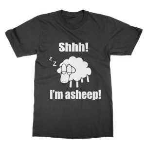 Shhh I'm a Sheep t-shirt
