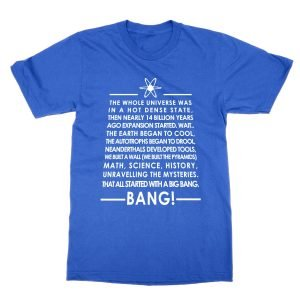 Big Bang Theory Lyrics T-Shirt