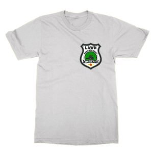 Lawn Enforcement Officer badge T-Shirt