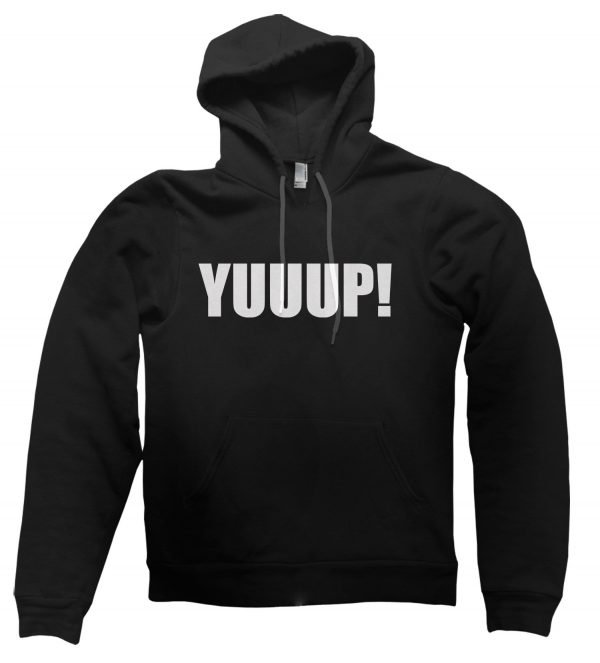Yuuup! hoodie by Clique Wear