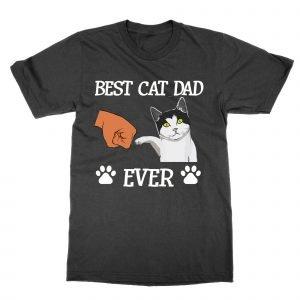 Best Cat Dad Ever T-Shirt