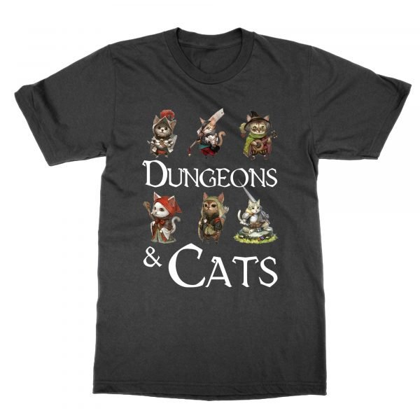Dungeons and Cats t-shirt by Clique Wear