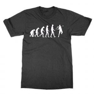 Evolution of A Tennis Player T-Shirt
