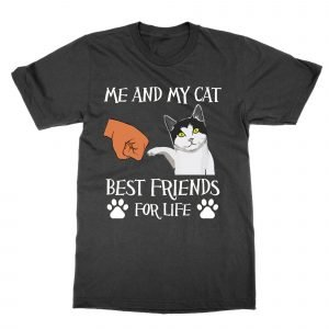 Me and My Cat Best Friends For Life T-Shirt