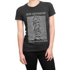 Soy Division Vegan Pleasures women's t-shirt