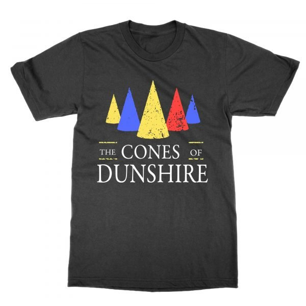 The Cones of Dunshire t-shirt by Clique Wear