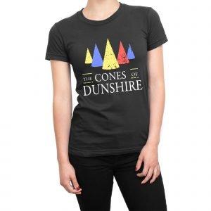 The Cones of Dunshire women's t-shirt